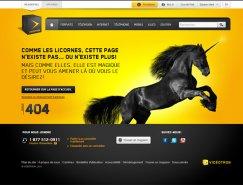 20个国外创意404页面设计