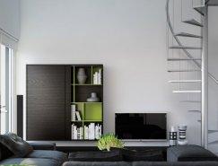 Triple D Designs:现代简约风格公寓设计