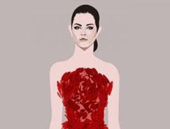 马来西亚插画师Will Ev水彩风格的时尚插画欣赏