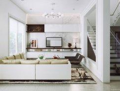 Anh Nguyen现代家居装修效果图设计