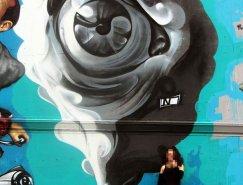 希臘街頭藝術家INO作品欣賞