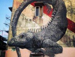 比利時街頭藝術家ROA作品欣賞