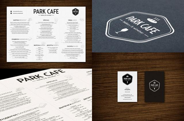 45个国外餐厅菜单和vi设计(5)