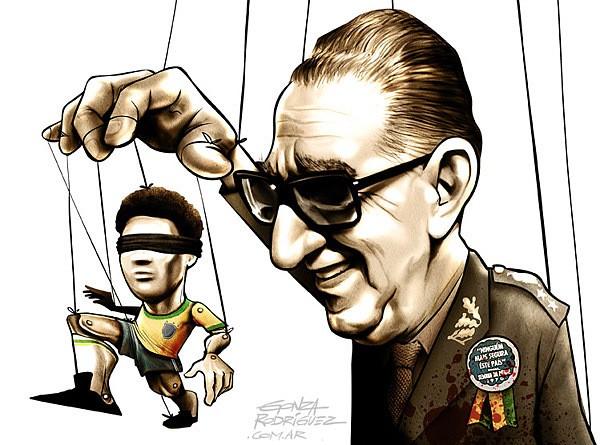 巴西艺术家Gonza Rodriguez人物漫画作品