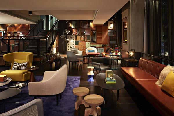 时尚新奇的QT悉尼酒店