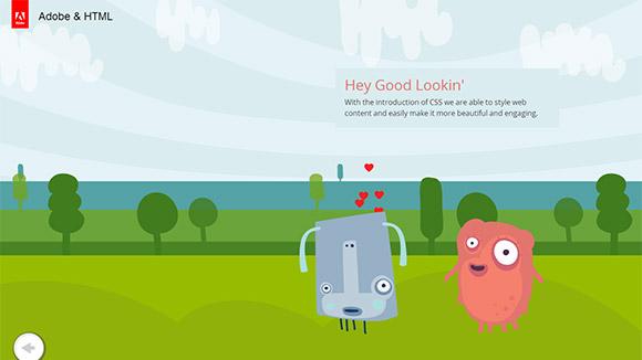60个手绘风格网页设计(3)