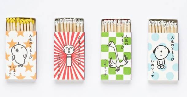 日本kokeshi创意可爱火柴盒设计(2)