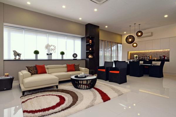 新加坡现代简约住宅设计(2)