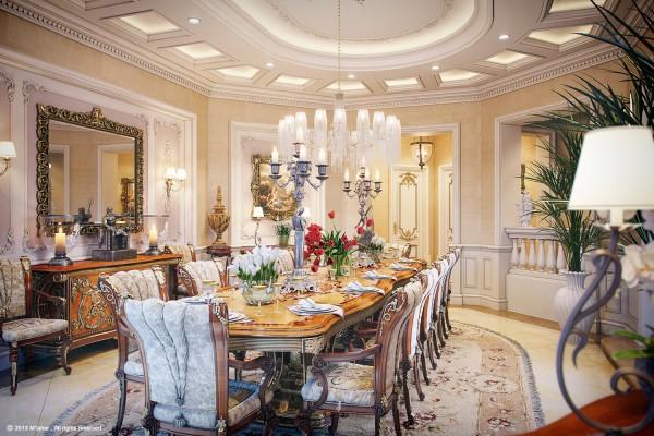 muhammad taher:卡塔尔宫殿般的豪华别墅