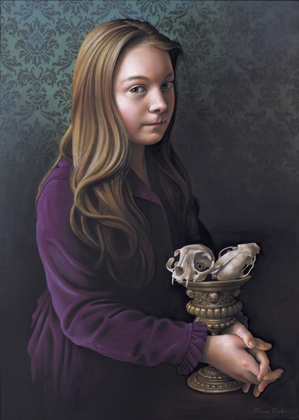 Miriam Escofet超写实风格肖像油画欣赏