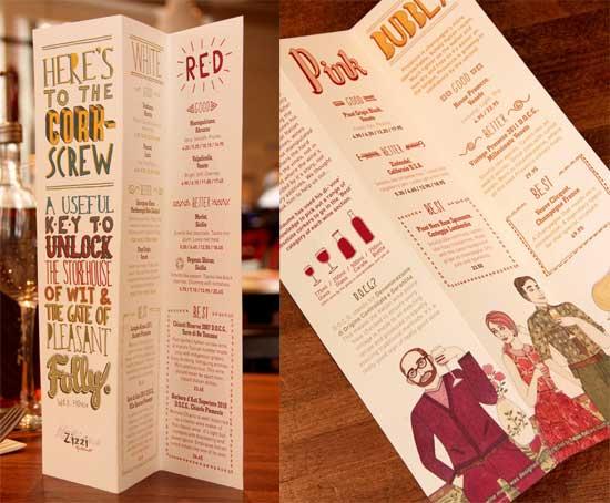 33个国外餐厅创意菜单设计(3)