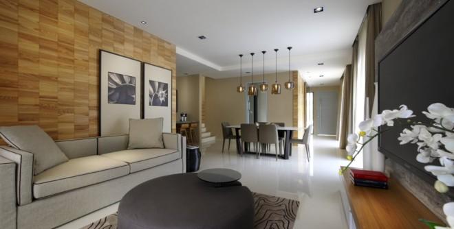 吉隆坡现代简约家居装修设计