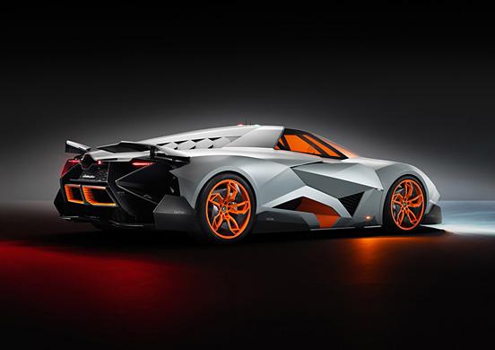 兰博基尼egoista概念超级跑车