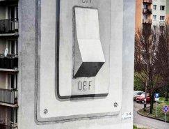 西班牙街頭藝術家Escif涂鴉作品