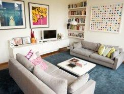 精巧俏皮的设计细节:伦敦小威尼斯四口之家住