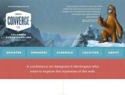 25个国外活动类主题网页设计