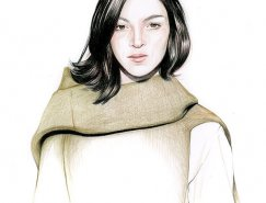 Caroline Andrieu时装插画欣赏