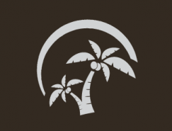 标志设计元素运用实例:椰子