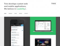 白色的运用:21款国外网页设计欣赏