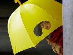 超酷的创意雨伞设计