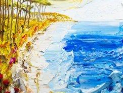 Justin Gaffrey的超酷立体油画
