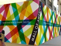 美国最大购物中心Mall of America新标志