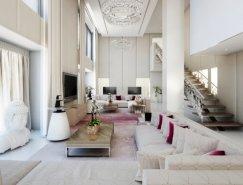 国外一组漂亮的客厅欣赏