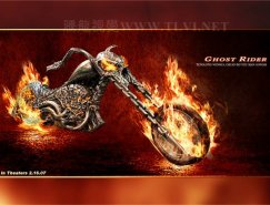 PS教程:打造恶灵骑士电影海报效果