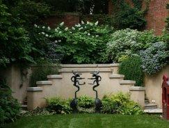 华盛顿新古典主义別墅庭院欣赏