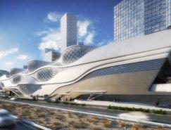 Zaha Hadid:沙特利雅得地铁站