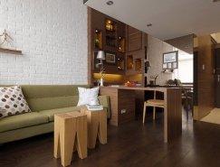 绝妙的空间澳门金沙网址 惊人的19平米温馨阁楼