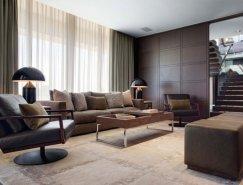 開普敦中性色調和現代感十足的頂層公寓