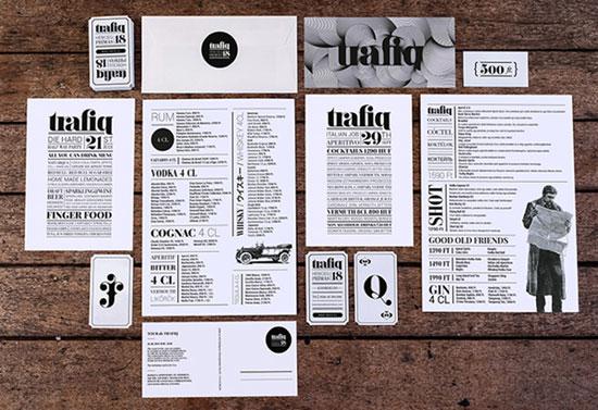 国外餐厅和咖啡厅菜单设计欣赏(5)