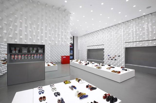 Nendo:纽约Camper鞋店设计