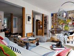 马德里波西米亚风格家居装修欣赏