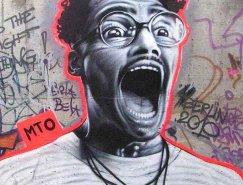 法国街头艺术家MTO作品欣赏