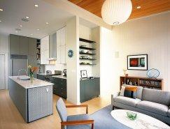 复古风格的现代北欧公寓设计