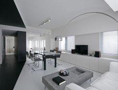极简的黑白公寓:东京Room 407