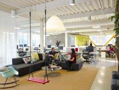 波特蘭FINE Design Group開放式辦公空間設計