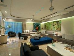 孟买时尚华丽的公寓设计