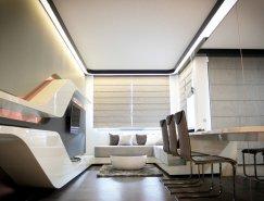 保加利亚80平米未来风格公寓设计