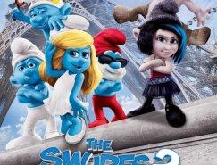 电影海报欣赏:蓝精灵2 The Smurfs 2
