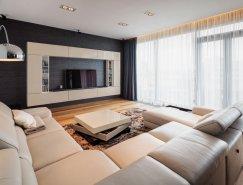 罗马尼亚现代复式公寓