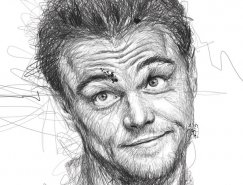 Vince Low明星肖像素描画