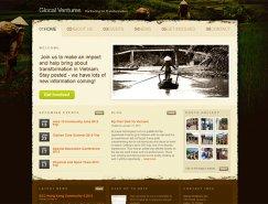 40个慈善和非营利组织网站设计欣赏