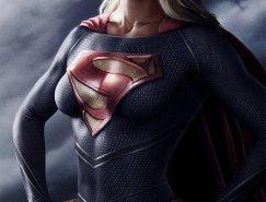 Jeff Chapman女性超级英雄人物插画