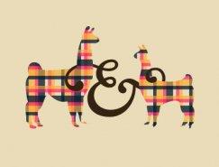 标志设计元素运用实例:羊驼