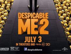 电影海报欣〓赏:卑鄙的我2 Despicable Me 2