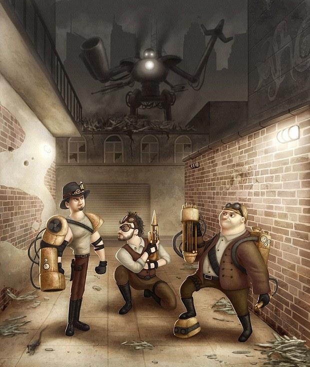 Filipe Laurentino可爱的概念插画作品