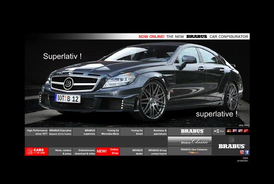 28个超酷动感的汽车网站设计